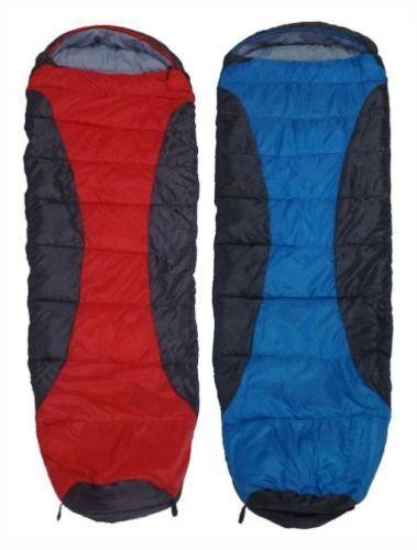 Yellowstone 1 2 3 Season Mummy Sleeping Bag Trekking Camping Red bluee Waterproof