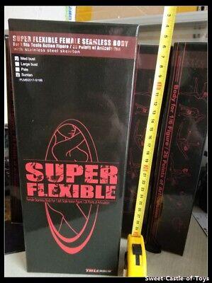 1//6 Phicen Super-Flexible Steel Skeleton Body Suntan Mid Bust S39 wHead TBLeague