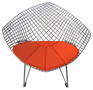 Delicieux Image Is Loading Cushion For Bertoia Diamond Chair Vinyl Many Colors