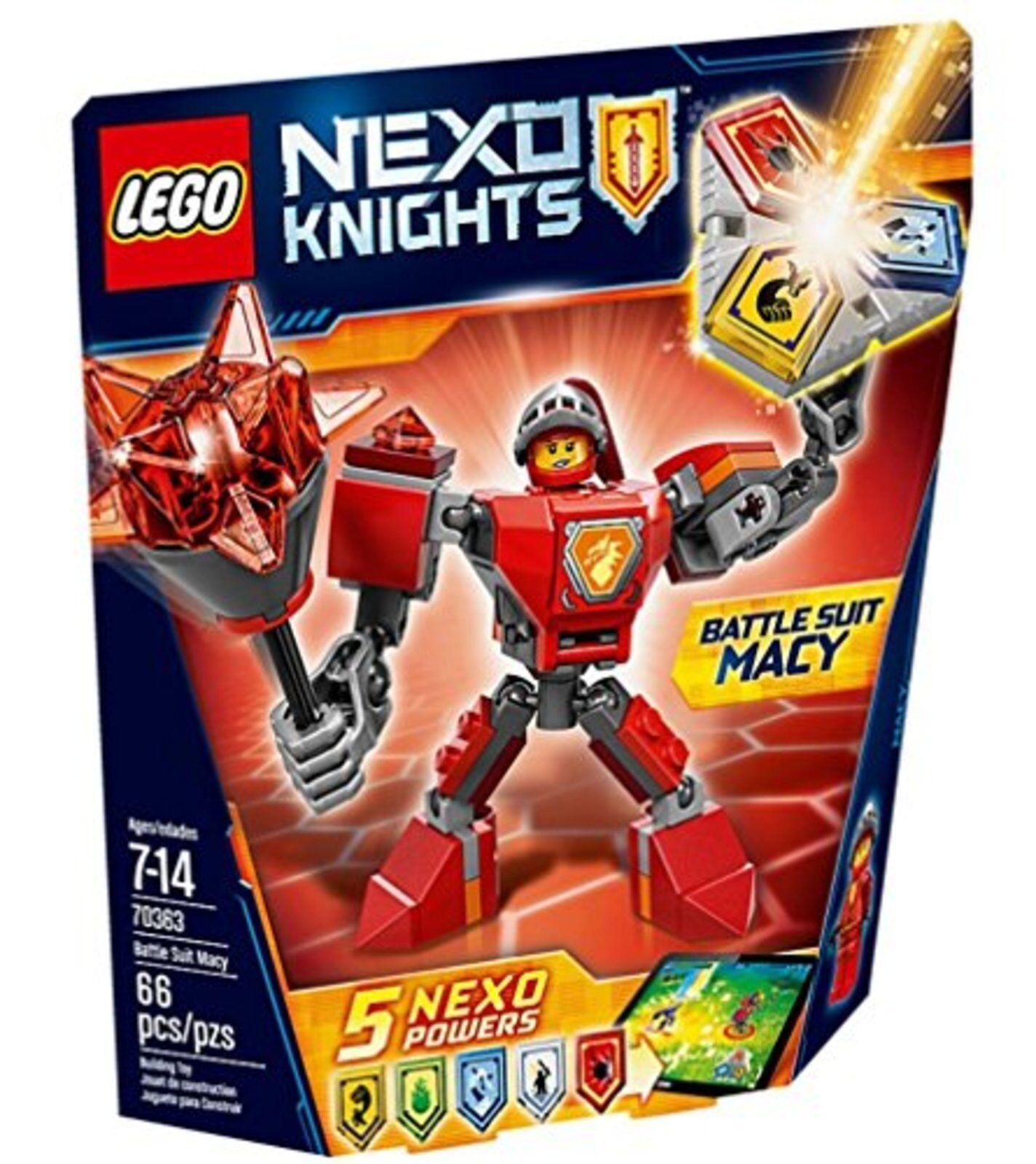 Lego Nex Nights Battaglia Adatto per Macy 70363 con Tracciamento # Nuovo