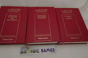 LOT-3-DICTIONNAIRES-LAROUSSE-SYNONYMES-CITATIONS-FRANCAISES-envoi-suivi