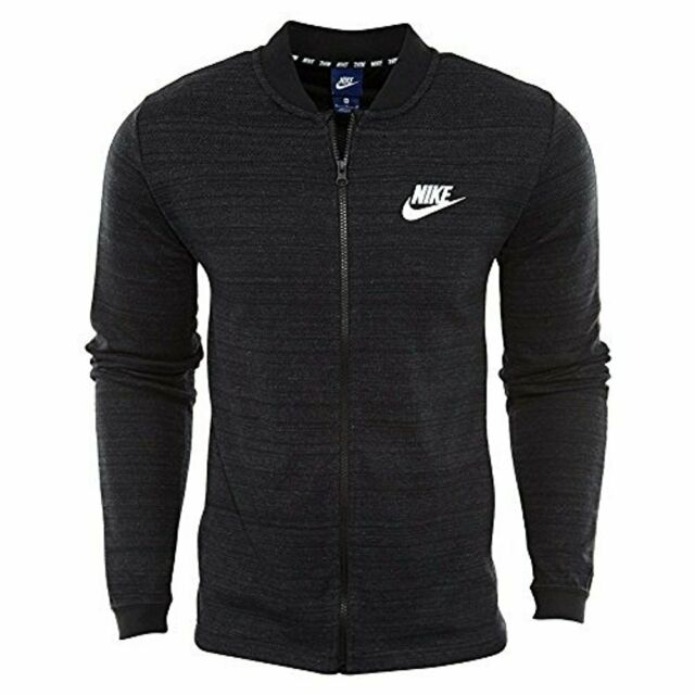 Nike Sportswear Advance 15 Knit Women`s Hoodie Full zip Jacket Black 837458 010