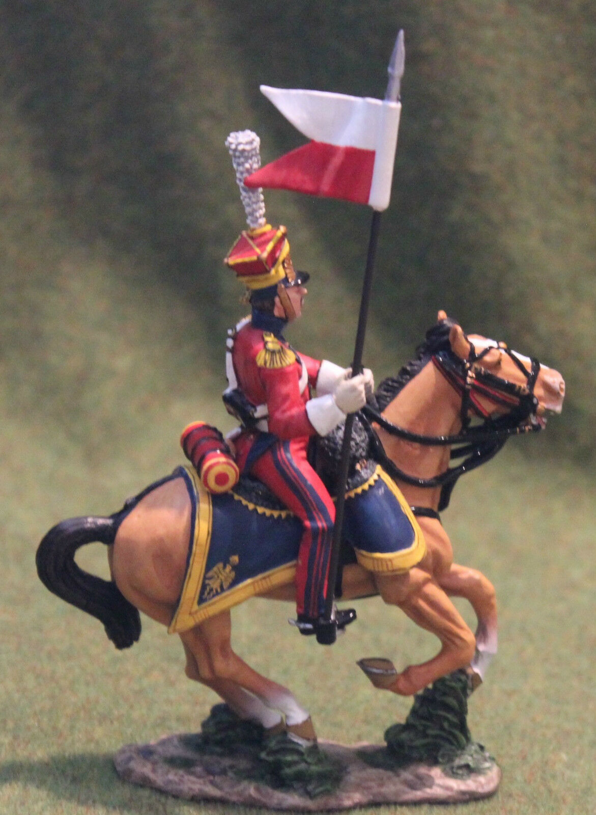 KING AND COUNTRY NA165 DUTCH LANCER TOY SOLDIERS NAPOLEONIC  BRITAINS