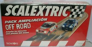 Responsable Scalextric 8870 Pack Ampliacion Off Road Non Repassant