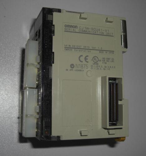 lot of 2 Omron CJ1W-SCU41-V1 serial communication unit Ver 1.3