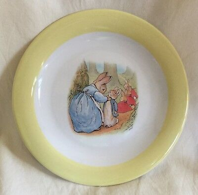 Pottery Barn 9 Quot Kids Peter Rabbit Melamine Plate Beatrix