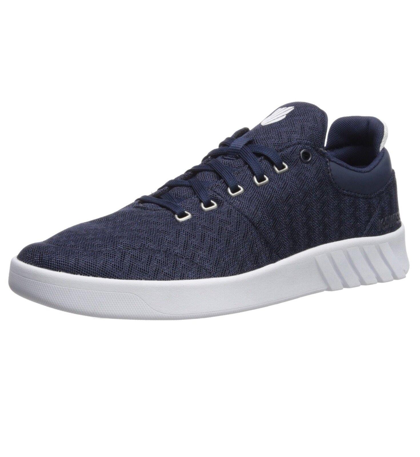K-Swiss Aero Lightweight Trainer Casual Sporty Gym Mesh Sneaker Shoe Iris Blue