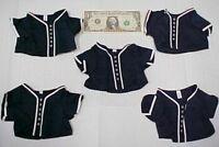 5 Greek Doll Clothes Baseball Uniform Tops, Shirts Team, Action Figure Bear