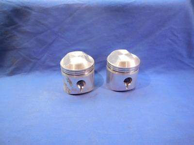 BSA A65 650 Pistons Pins /& Clips Stock Bore 9:1