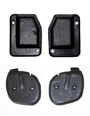 1965-1966 Mustang Door and Quarter Post Seals Left /& Right 4 pc Kit Screws NEW