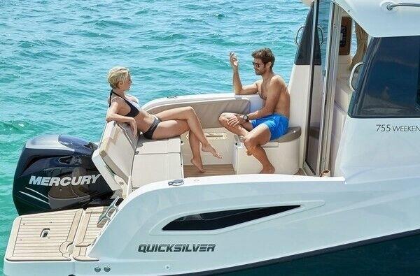 Quicksilver Activ 755 Weekend m/Mercury F250...,