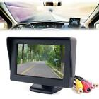 "4.3"" TFT LCD Color Screen Car Rear View Monitor DVD GPS for Car Backup Camera WT"