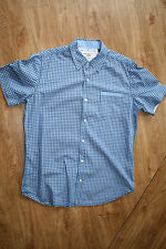 BLUE CHECKED SHIRT BY PROJEKRAW SIZE M EXCELLENT CONDITION