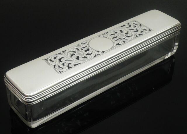 Silver Pot Pourri Dish, Thomas Whitehead, London 1831