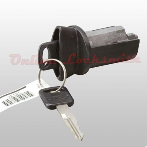 New Ford Explorer 1996-2000 Coded Ignition Switch Cylinder /& Two Keys w// Logo