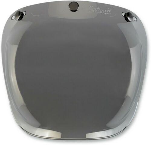 Biltwell Anti-Fog Bubble 3-Snap Bubble Face Shield Gold Mirror