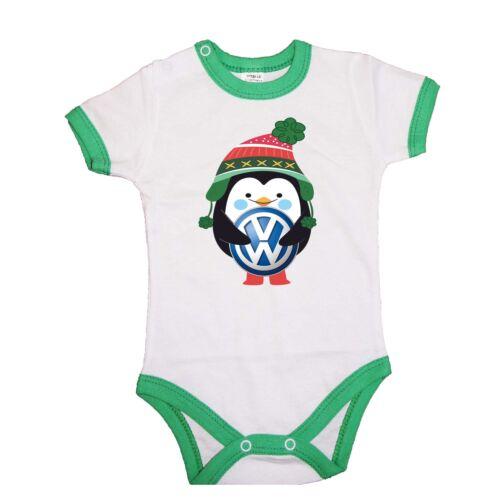 BABY BODY Bodysuit VW Volkswagen Penguin Winter Geschenk Weihnachten