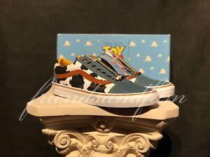 8b014ae626 Disney PIXAR Vans Old Skool Toy Story Woody Cowboy Supreme Denim ...