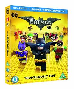 the lego batman movie 3d  2d blu-ray, 2 discs, region free new/sealed | ebay
