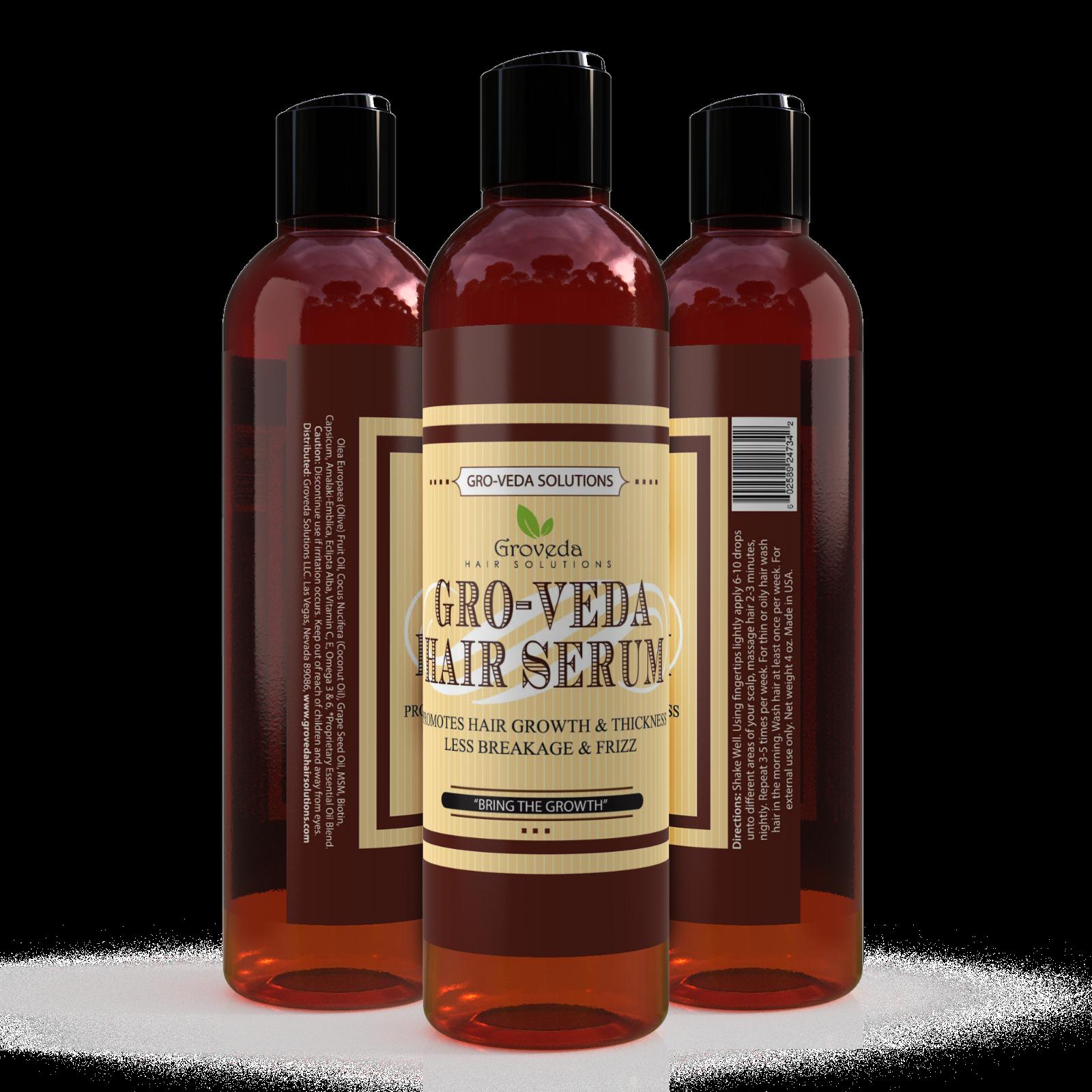 Groveda Fast Hair Growth Oil - Amla, Coconut Oil, Grape Seed Oil, Olive Oil
