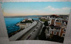 Genova Corso Italia 1960 Panorama Veduta Di Vecchia Foto Cartolina