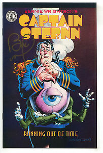 Captain-Sternn-Running-Out-Of-Time-1-NM-Signed-Bernie-Wrightson-Promo