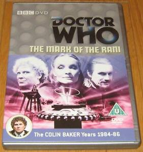 Doctor-Who-DVD-The-Mark-of-the-Rani-Excellent-Condition