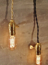 Vintage Industrial Pendant Light - Machine Age Lamp