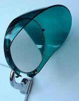 Plastic Green 4 Mirror Visor Shade Rat Hot Rod