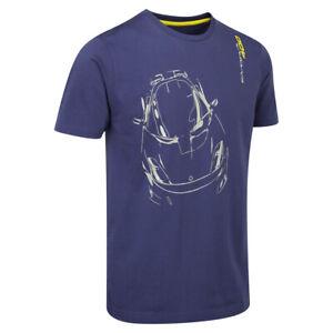 Industrieux Lotus Evora 400 T-shirt Homme Bleu Foncé-officiel Lotus Marchandise!-afficher Le Titre D'origine Exquis (En) Finition
