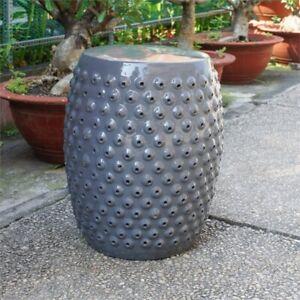 Terrific Details About Bombay Drum Ceramic Garden Stool Inzonedesignstudio Interior Chair Design Inzonedesignstudiocom