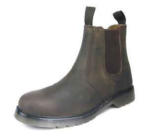 Goodwood James Sole cuero para Brown de Chelsea Frank hombre Air Boots Botines CdSw5dHq