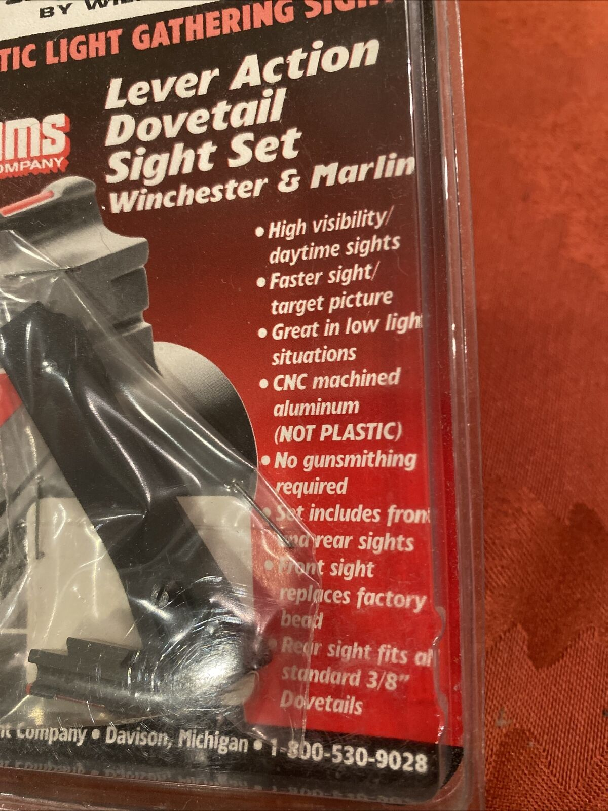 Williams Fire Sights Set for Winchester 94 Marlin 336 Open Dovetail Sight 60217 for sale online