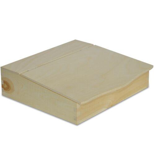 Creative Deco Holz-Schreibtisch Organizer27 x 27,5 x 7,8 cmDokumentablage