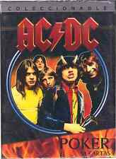 AC//DC Albums Playing Cards Deck Brand New Sealed