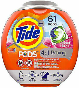 Tide 4in1 Downy Laundry Detergent Pods 37000977858 Ebay
