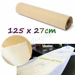 Skateboard-Griptape-Grip-Tape-Matting-Sheet-Clear-Waterproof-Longboard-125x27cm