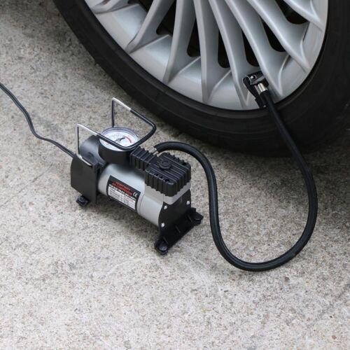 Auto Luft Kompressor mit Manometer 12V Druckluft Pumpe Kompressor 150PSI PKW KFZ