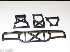 TLR03008 TEAM LOSI TLR 1/10 TEN-SCTE 3.0 SHORT COURSE TRUCK REAR BUMPER KIT