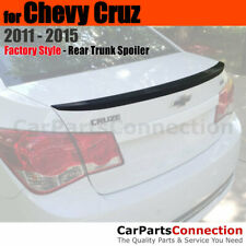 Painted Trunk Spoiler For 11 15 Chevy Cruz No Drill Ducktail Wa8624 Polar White Fits Cruze