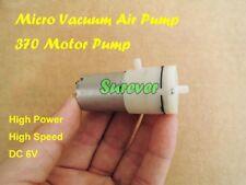 Dc 3v 5v 6v Micro Vacuum Pump Small Mini 370 Motor Air Pump Breast Monitor Pump