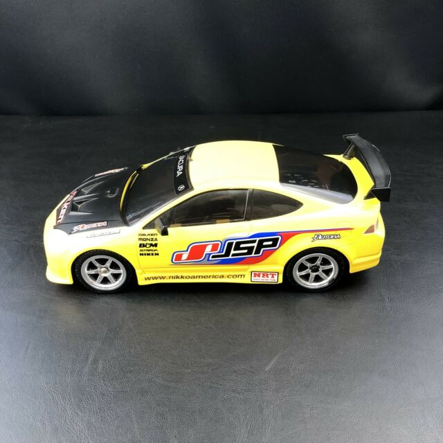 Street Racing Cars For Sale >> Nikko Rc Radio Control Yellow Acura Rsx Street Mayhem Tuner Racing Car Defect