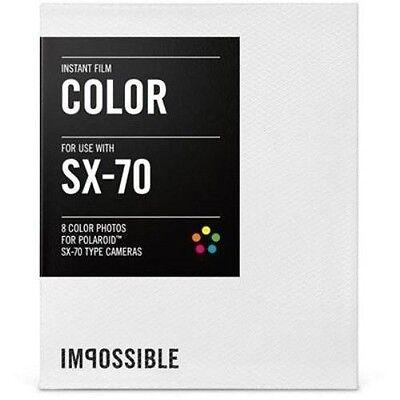 Impossible Instant Color Film for Polaroid SX-70 Cameras PRD4512 (2783)