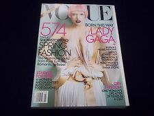 2011 MARCH VOGUE MAGAZINE - LADY GAGA - BEAUTIFUL FASHION ISSUE - D 1727