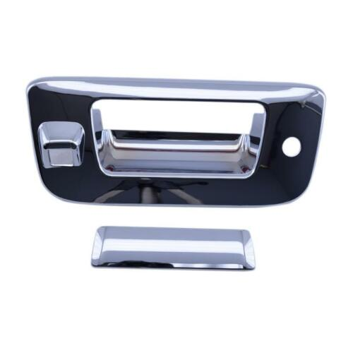 W// Keyhole *NEW* Lund AVS Chevy GMC Chrome Tailgate Handle Cover W// Camera Hole