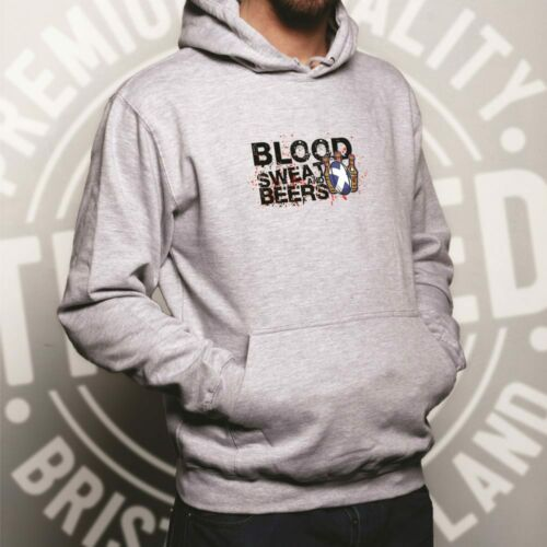 Scotland Rugby Supporter Hoodie Blood Sweat And Beer Six Nations Sports