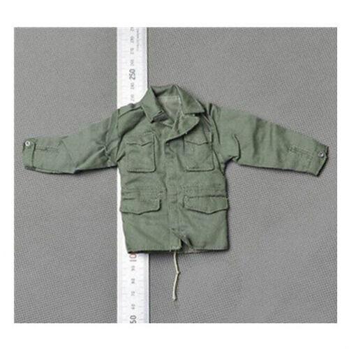1//6 Dragon DML Model US Paratroopers Soldier Green Canvas Shirt Jacket Uniform