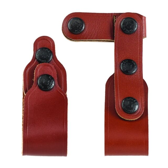 Galco Vertical Shoulder Holster & Mag Tie Down Set, Tan, #VHSTD