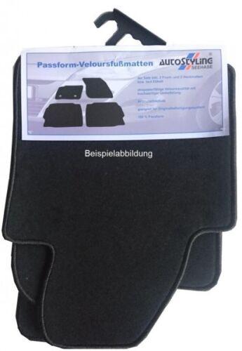 Velour-Fußmatten für MB SL 350//500 W230 Bj.2003