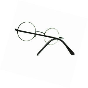 63f6f37f131 Image is loading Round-Circle-Clear-Lens-Eyeglasses-Small-Size-Thin-
